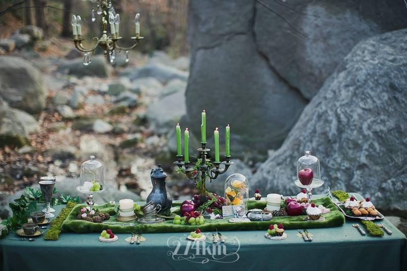 Mesa para boda de fantasía