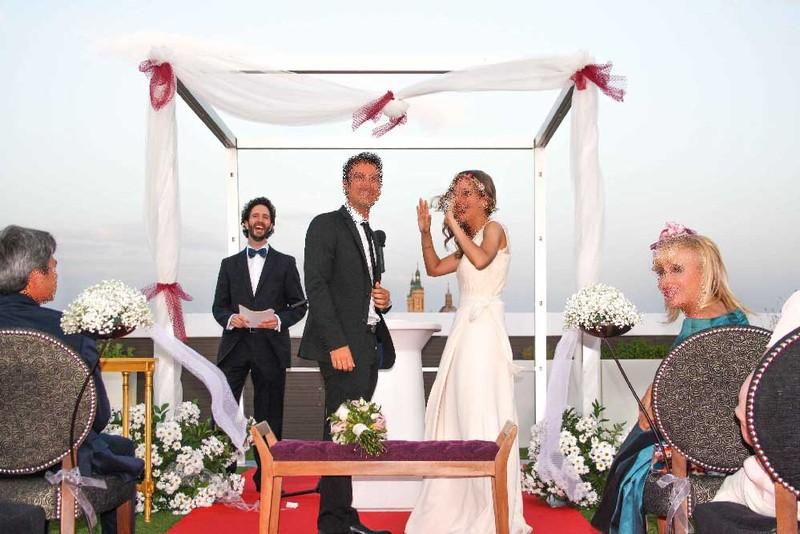 Maestro de ceremonias boda original