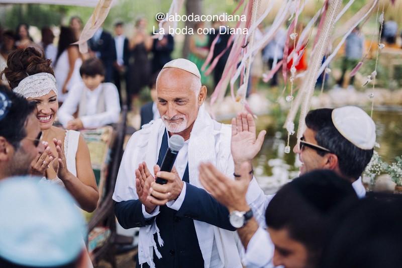 Boda judía en el campo