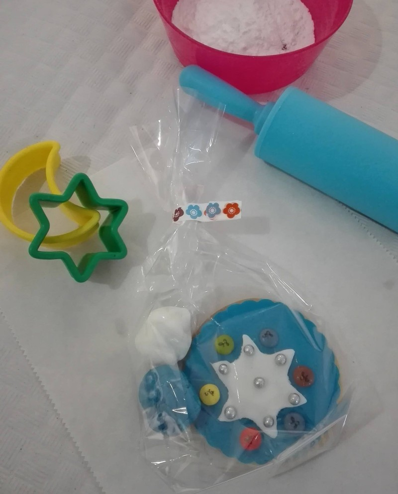 Taller infantil de decoración de galletas