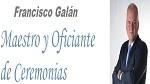 Empresa de Maestros de Ceremonias, Oficiantes y Presentadores en Sevilla Francisco Galán. Maestro y Oficiante de Ceremonias
