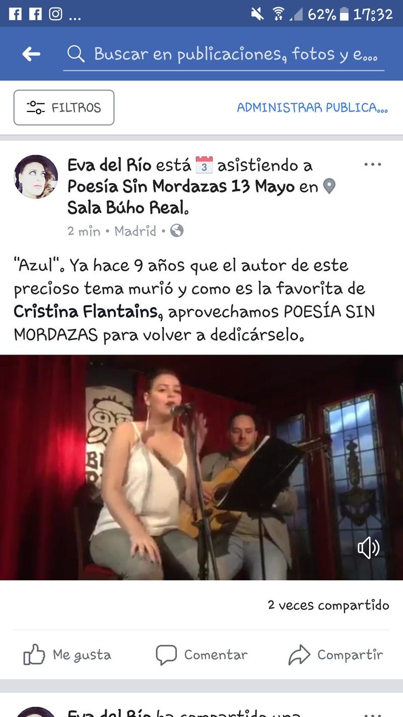"""ESTO NUESTRO EN """"POESÍA SIN MORDAZAS"""" SALA BÚHO REAL"""