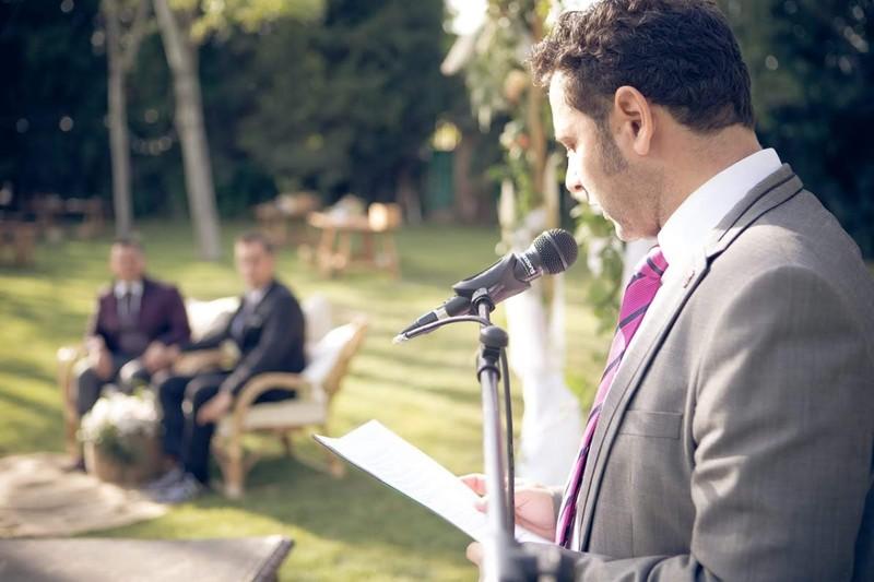 La ceremonia de Dani&Isaac