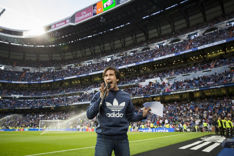 Manuel Feijoo Speaker en Santiago Bernabéu