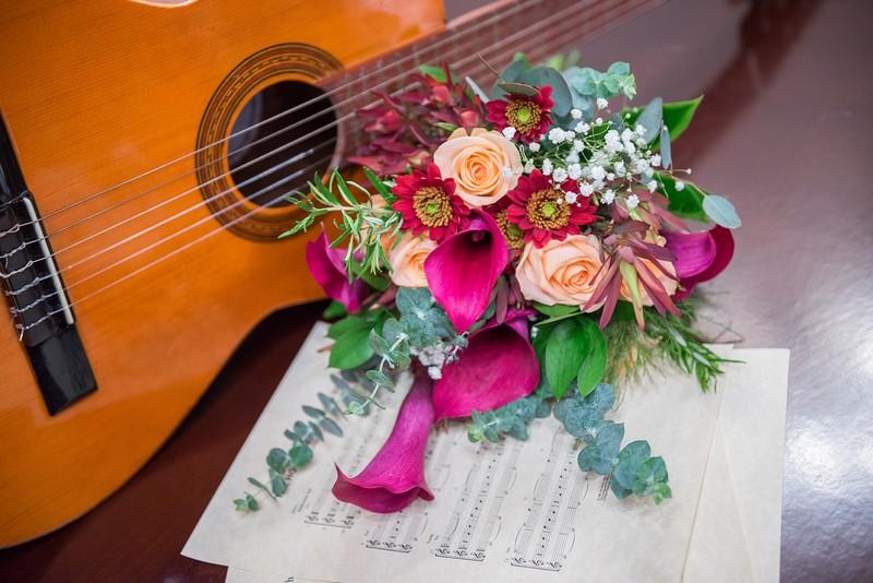 Ramo y guitarra