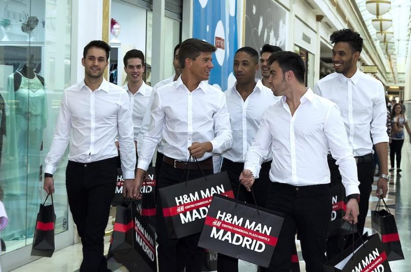 Activación en la inauguración de H&M