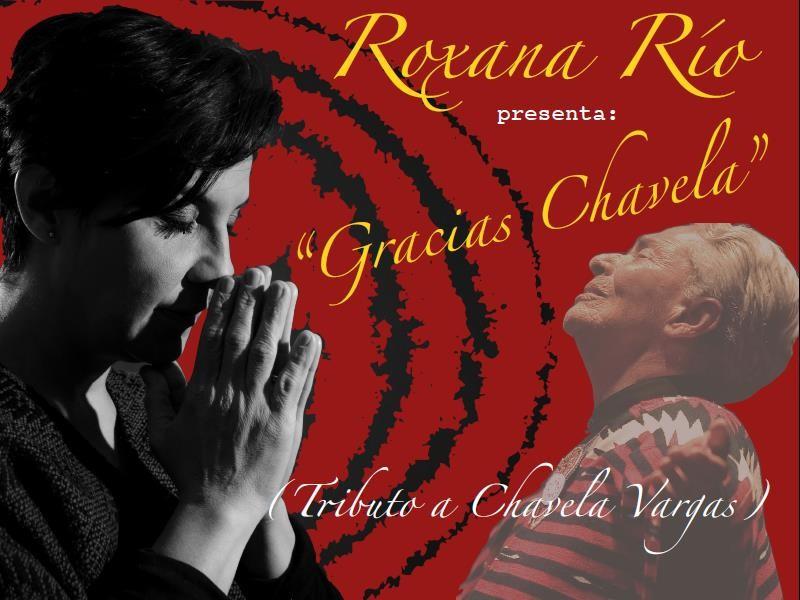 "Roxana Río ""Gracias Chavela, Tributo a Chavela Vargas"""