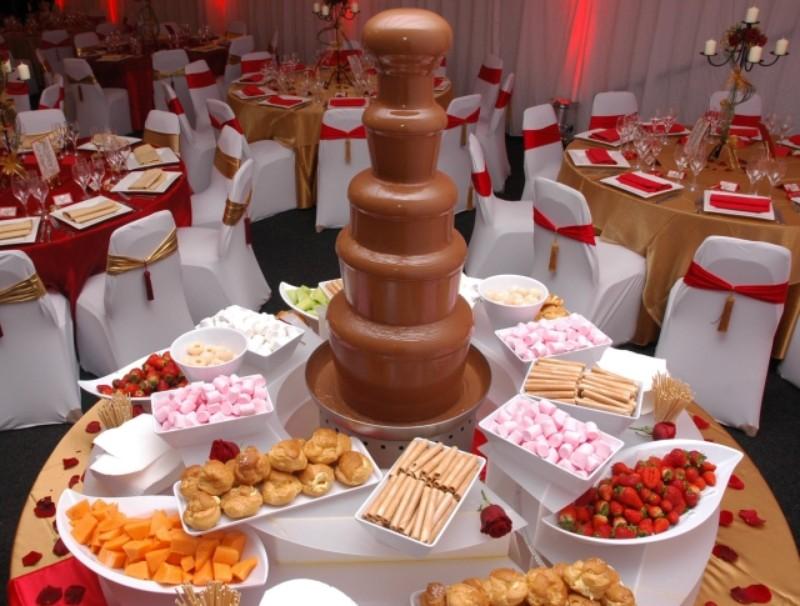 CandyBar y Fuentes de Chocolate