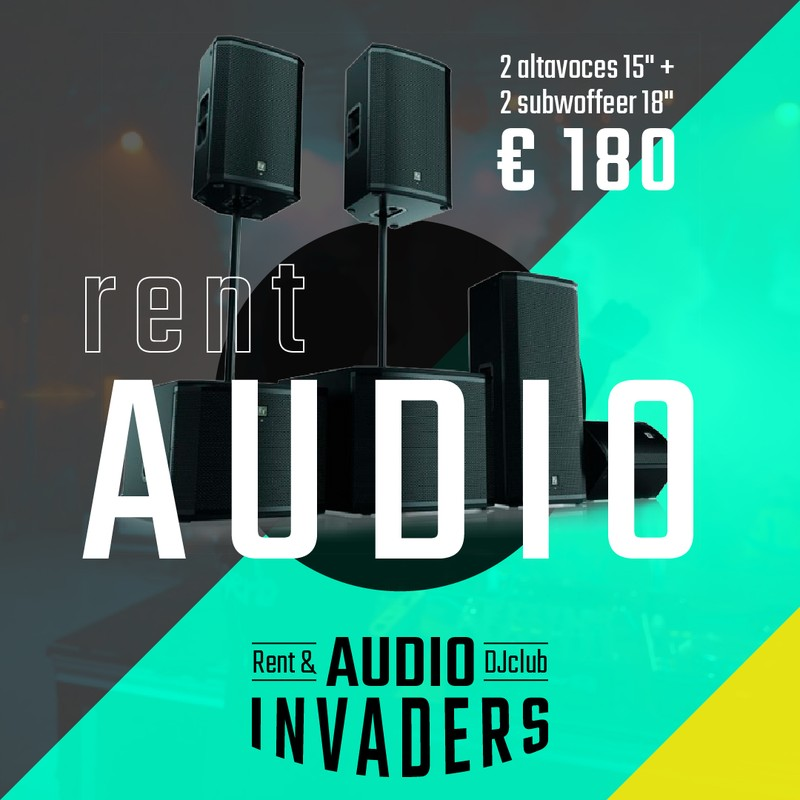 Alquiler audio para eventos