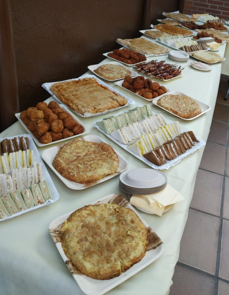 Ejemplo catering