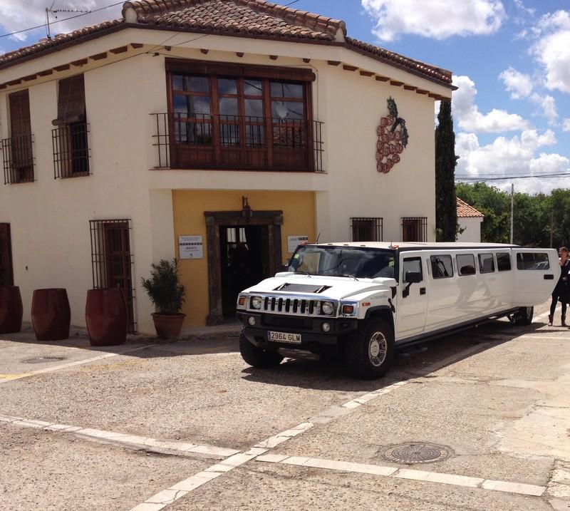 Limousine a la Enoteca Qubél