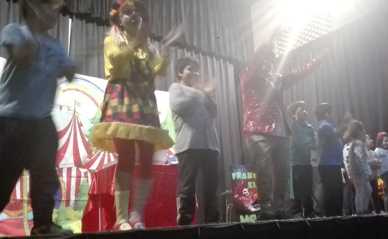 El show de Aladina y Mandarina