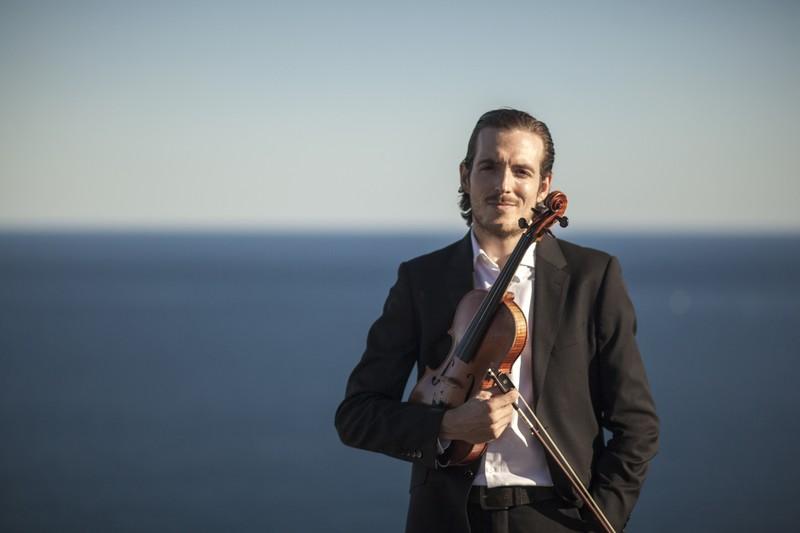 Nuestro violinista Jaime