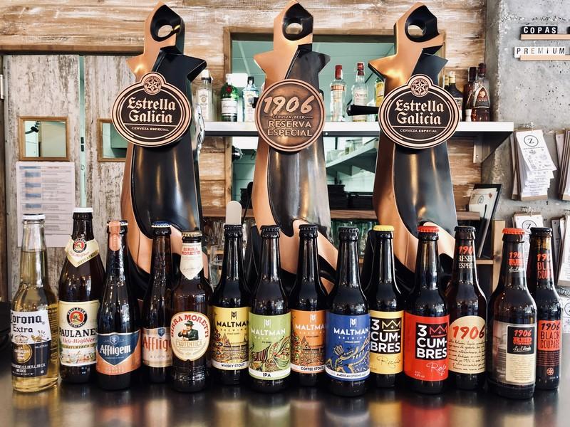Cerveceria Artesanal, nacional e importación
