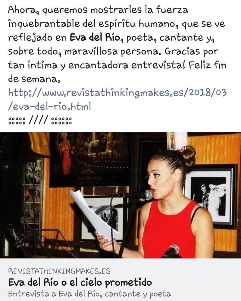 """ENTREVISTA REVISTA """"THE THINKING MAKES"""""""