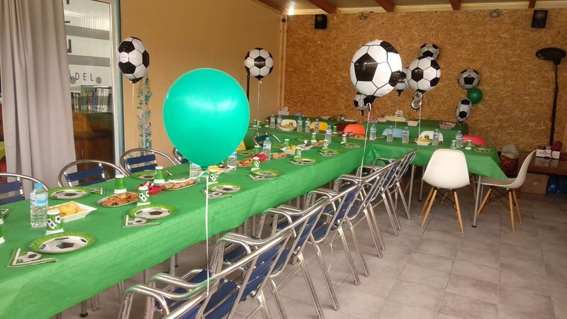 Mesa Cumpleaños Pinomar Verde