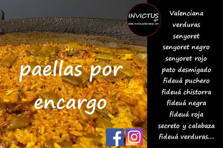 invictus&go - Catame by Invictus presta servicio en la subcategoría de Catering en Valencia