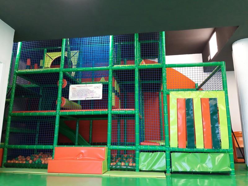 Sala 1 Parque de Bolas 3 alturas con cama elástica