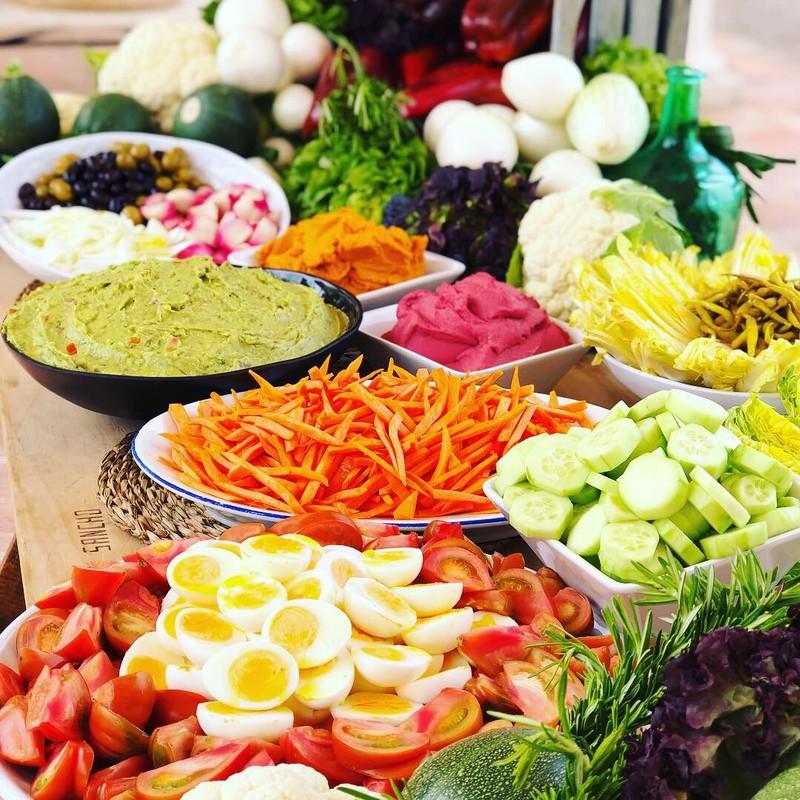 Buffet ensaladas