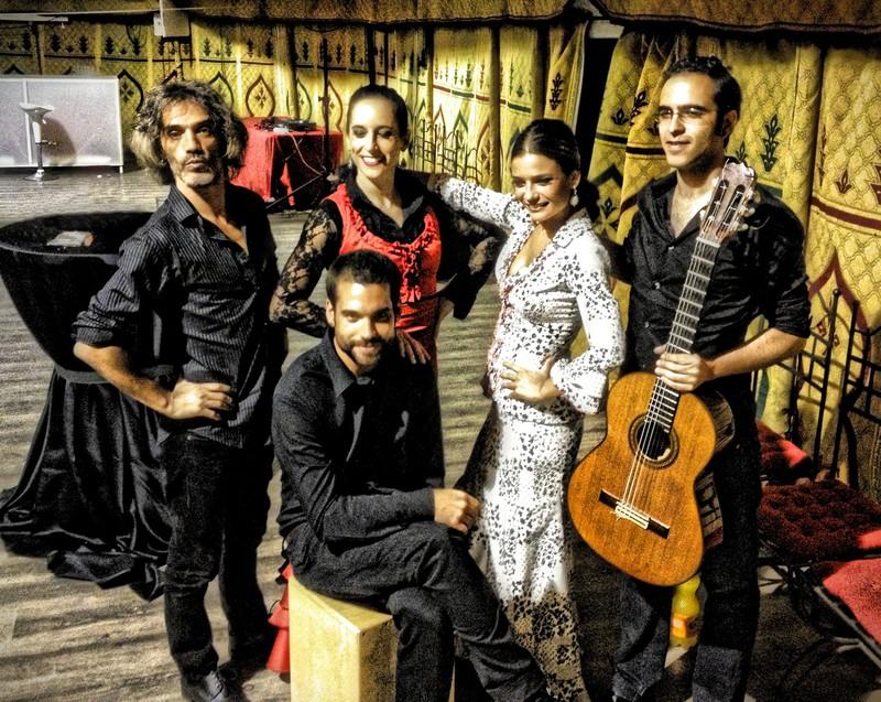 Quinteto flamenco