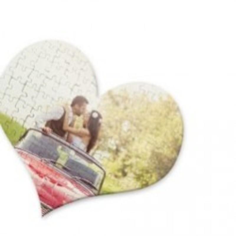 Puzzle corazón personalizado