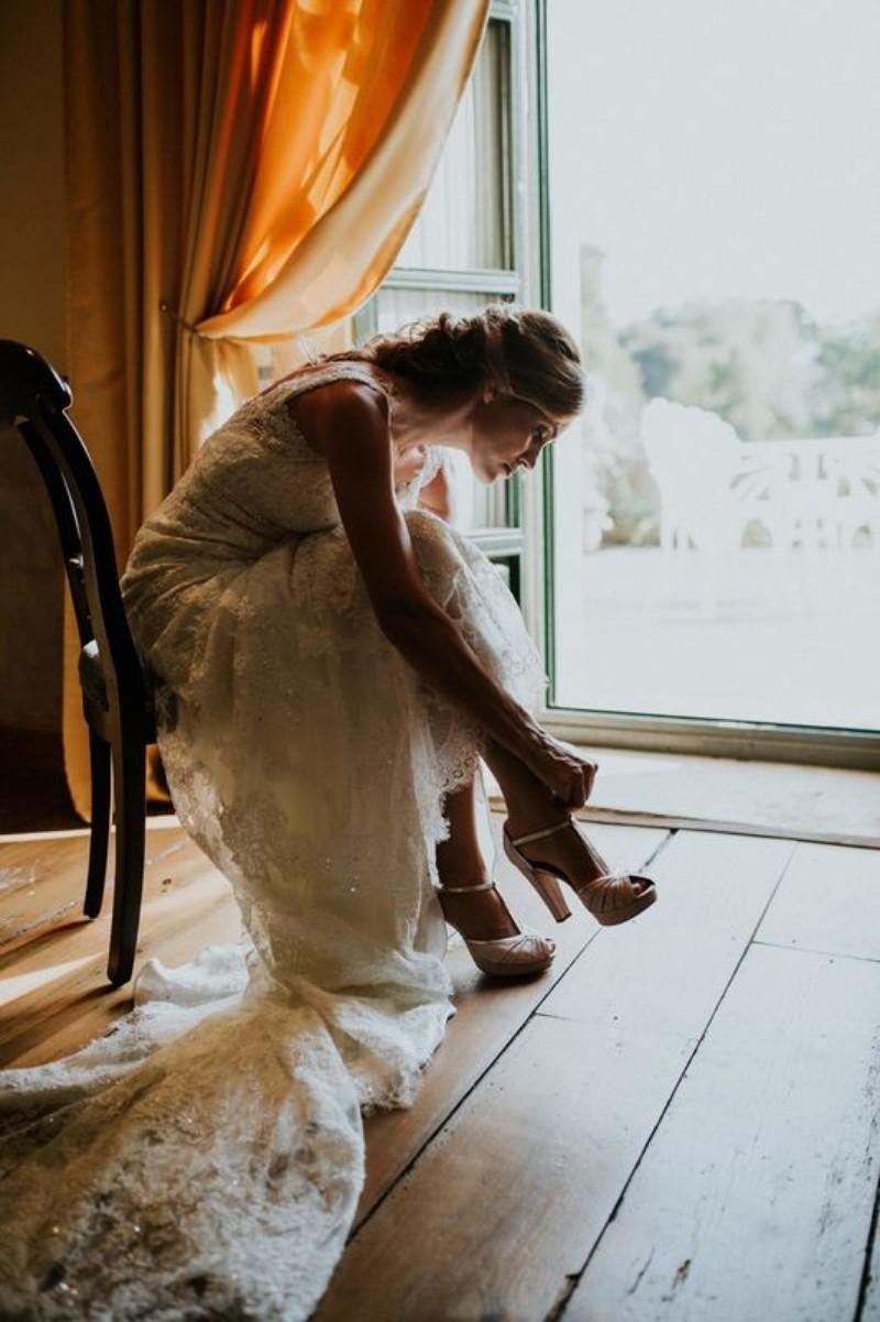 Novia en la boda