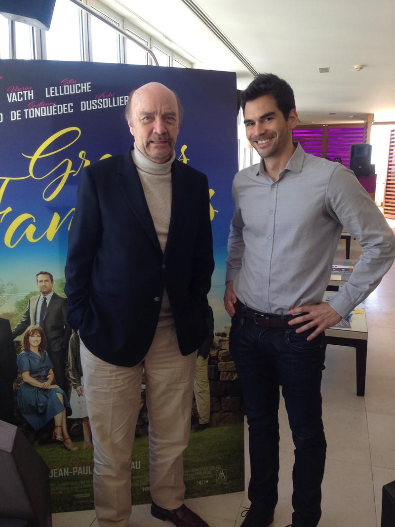 Rueda de prensa con director de cine Jean Paul Rappeneau