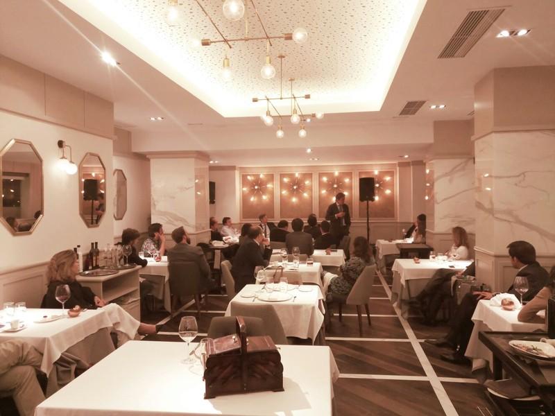 Evento restaurante Piñeira