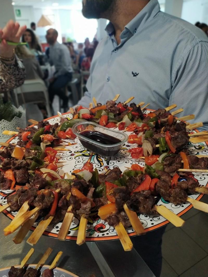 Catering Recio's Show Cooking Málaga