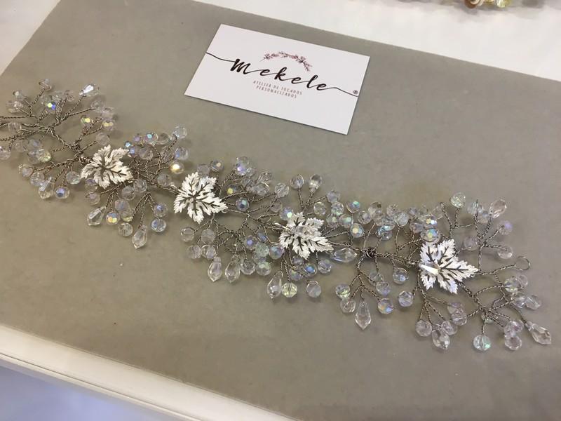 semicorona en silver bridal