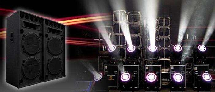 Gssonido presta servicio en la subcategoría de Equipos de sonido en Murcia