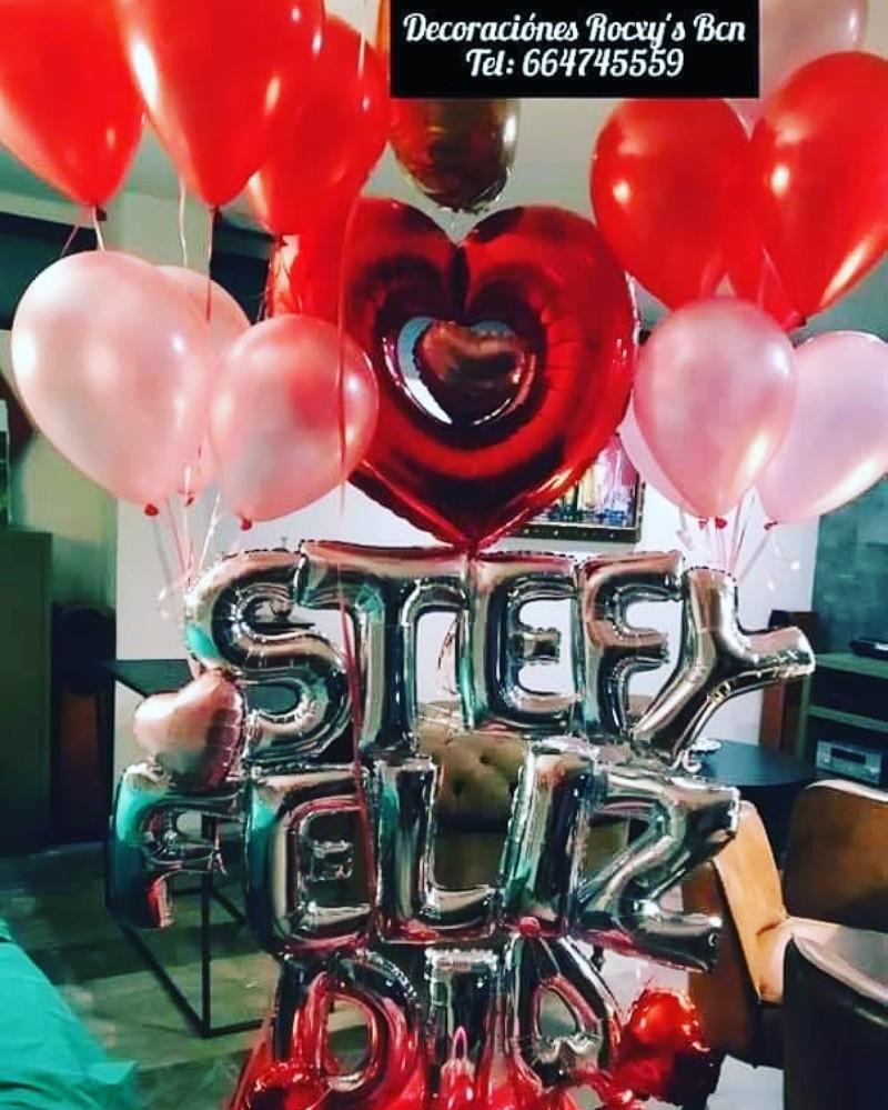 Sorpresas con globos
