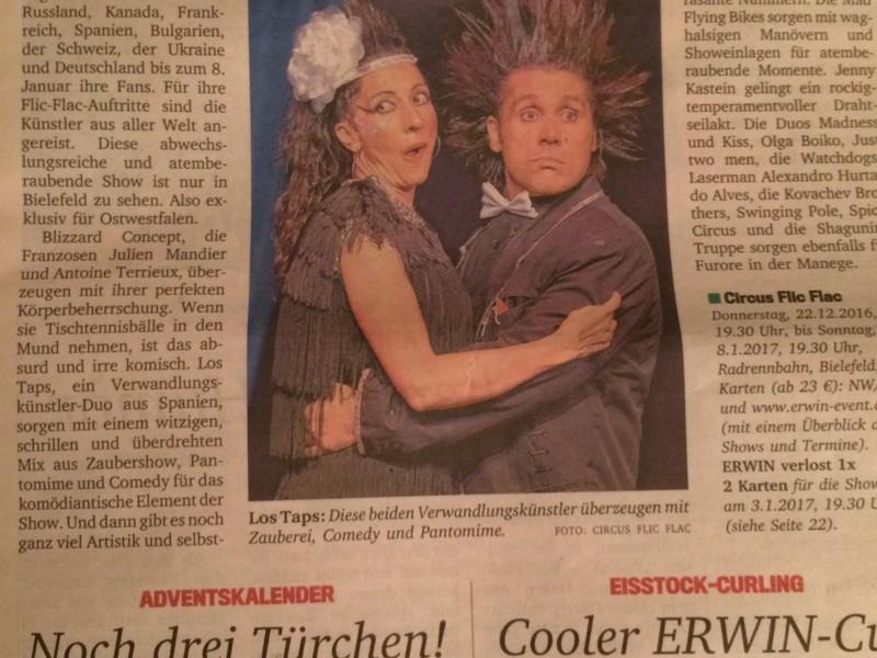 En la prensa Alemana