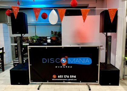 DiscoManía Eventos presta servicio en la subcategoría de Djs en Valencia