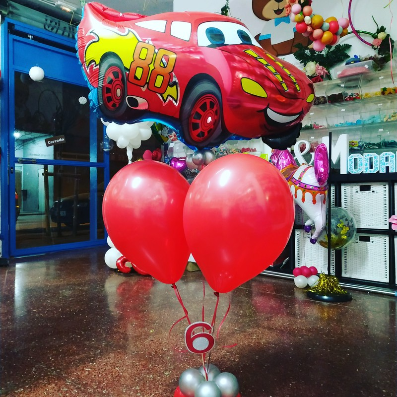 Arreglos de globos para cumpleaños
