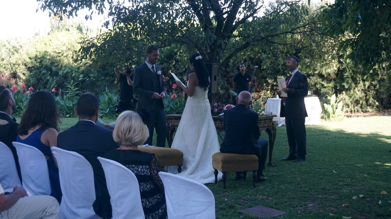Maestro de ceremonias bodas civiles Sevilla
