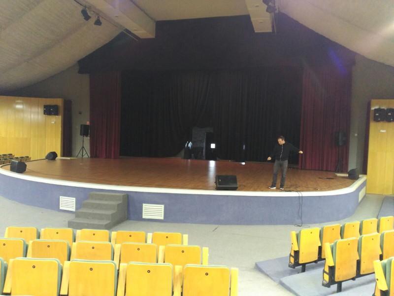 Sonorización de concurso de baile en el Teatro Auditorio de la Casa de Campo (Ma