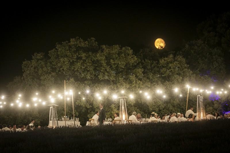 Iluminación Festival de la Lavanda
