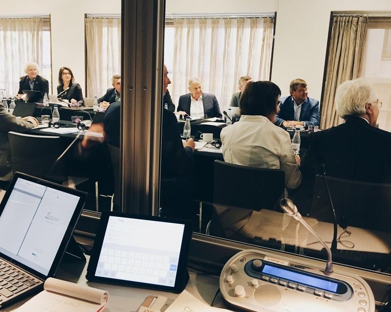 Experiencia en reuniones de altos directivos