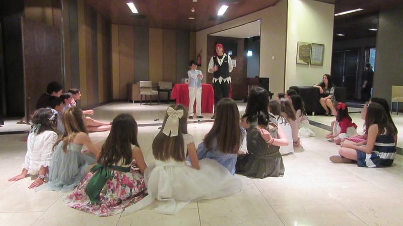 Espectáculo de magia infantil comuniones