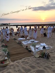 ¡Cásate Conmigo! en el Sur presta servicio en la subcategoría de Wedding planner en Cádiz