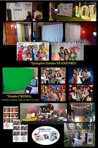 EVENJOYS presta servicio en la subcategoría de Fotomatón y Photocall en Alicante