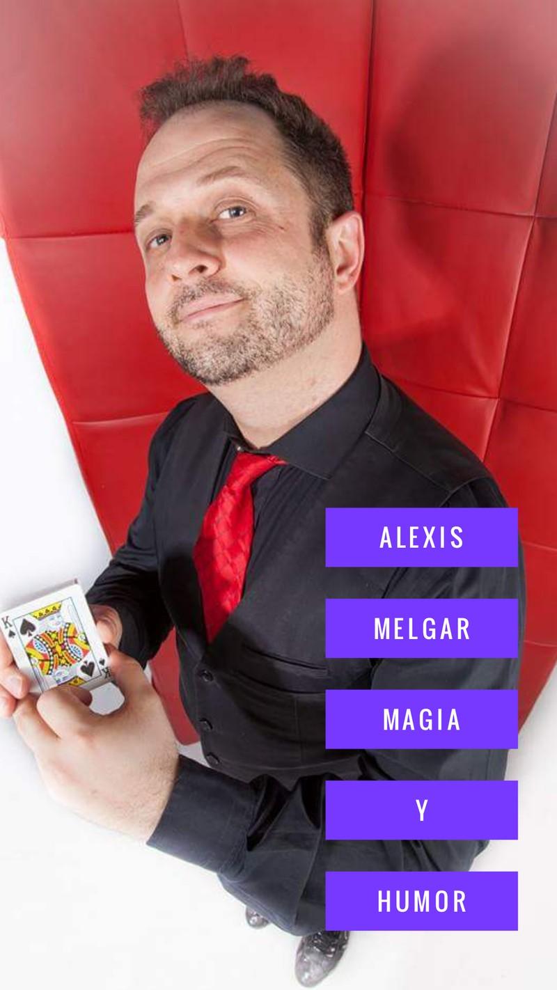 Magia profesional con Alexis Melgar