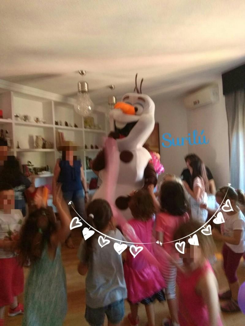 Visita de Olaff