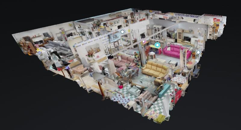 Video Visita 360 de Tienda de Muebles
