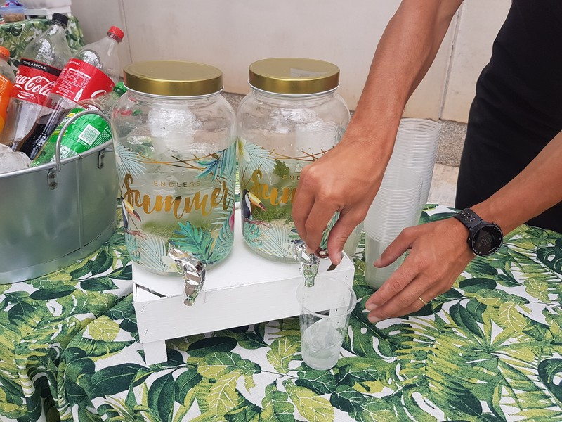 Barra sin alcohol, limonadas caseras
