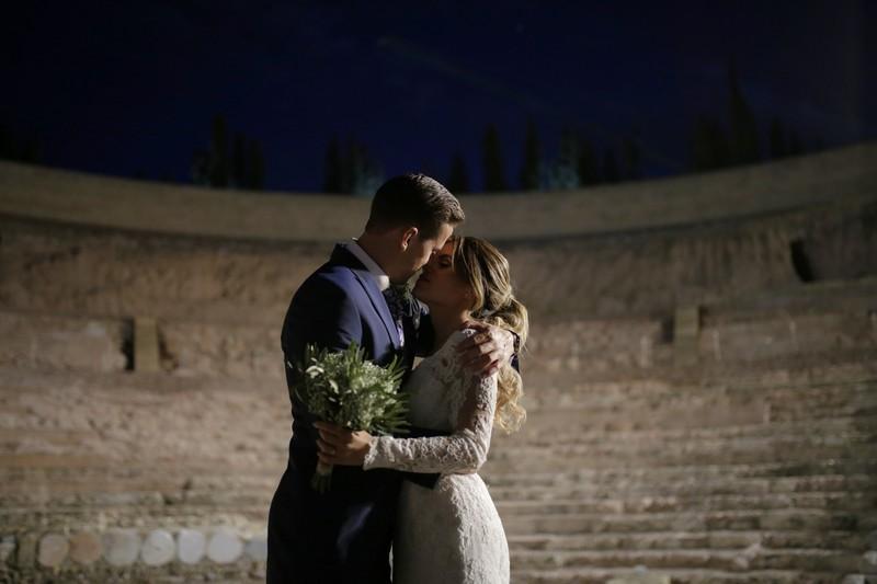 Sesión de boda en Coliseo de Cartagena