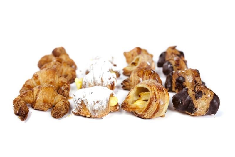 Mini croissant dulce