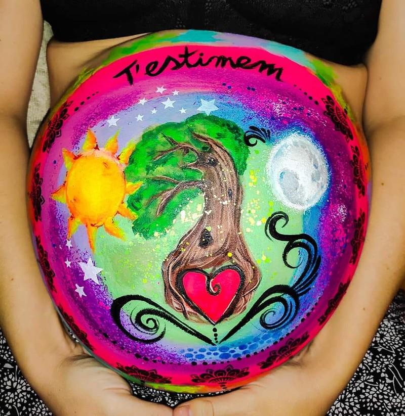 Árbol de la vida - Belly Paintinig