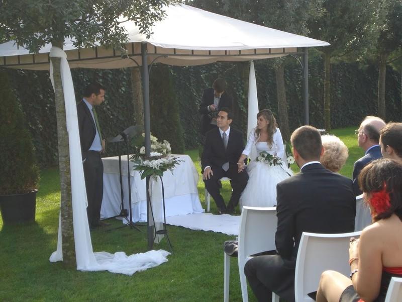 La ceremonia de Jordi & Verònica